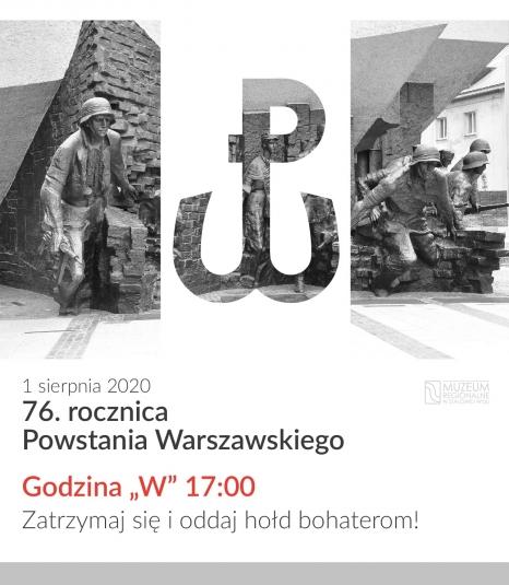 76. rocznica Powstania Warszawskiego