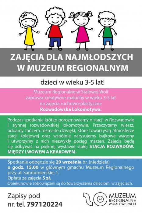 Zajęcia dla najmłodszych w Muzeum Regionalnym