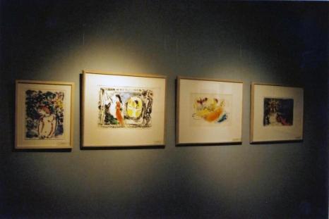 Marc Chagall – ilustracje do Biblii i inne litografie