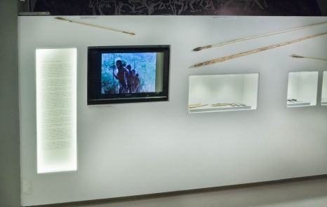 Zdjęcie z wystawy Myśliwi, rolnicy i pasterze epoki kamienia w Muzeum w Stalowej Woli