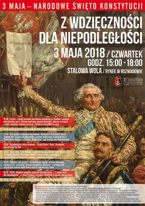 Święto Konstytucji 3 maja w Stalowej Woli