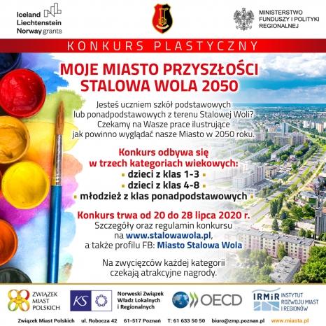 """Konkurs ,,Moje Miasto Przyszłości- Stalowa Wola 2050"""""""