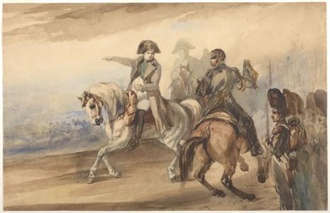 Napoleon wydający rozkazy, 1835, Muzeum Narodowe w Krakowie