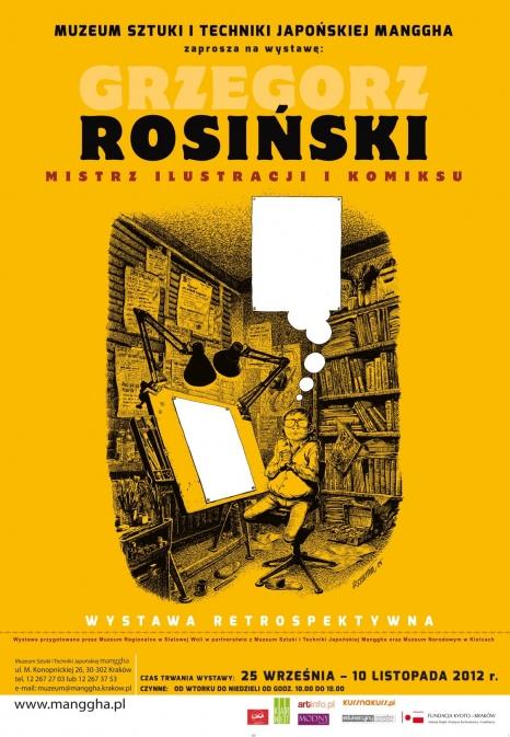 Grzegorz Rosiński - mistrz ilustracji i komiksu