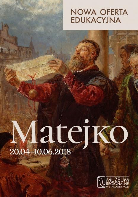 """Oferta edukacyjna do wystawy """"Matejko"""""""