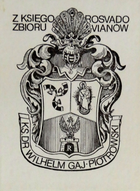 Ekslibrisy ze zbiorów Muzeum Regionalnego w Stalowej Woli o tematyce religijnej w Bibliotece Wydziału Zamiejscowego KUL w Stalowej Woli