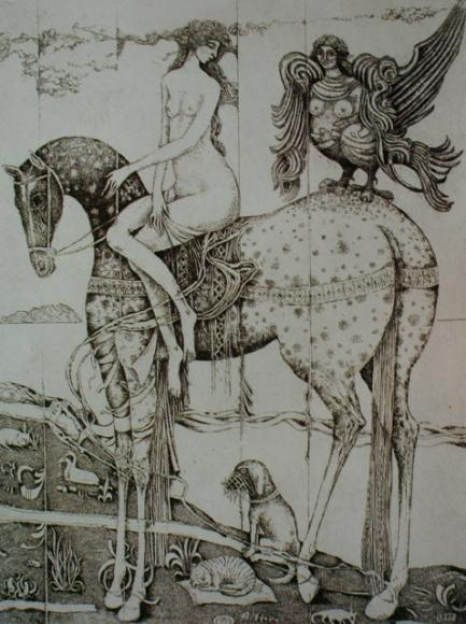 Ryszard Stryjec – rysunek i grafika z kolekcji Państwowej Galerii Sztuki w Sopocie
