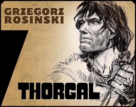 Grzegorz Rosiński - wystawa plenerowa