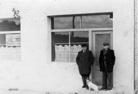 W. Kubikowski z synem Jerzym