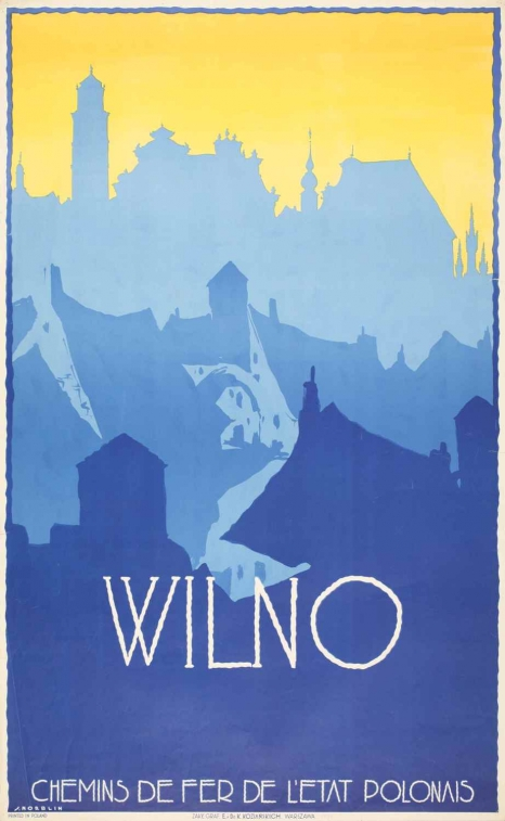 Plakat Stefana Norblina, przed 1939
