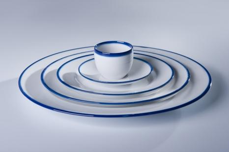 Touch of blue, Marek Cecuła/Ćmielów Design Studio