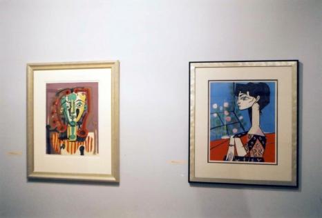 Picasso, Matisse, Miró – grafika