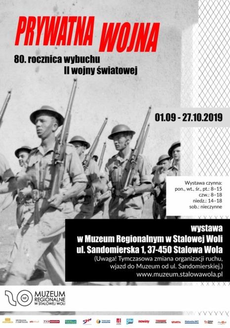 """Oferta edukacyjna do wystawy """"Prywatna wojna"""""""