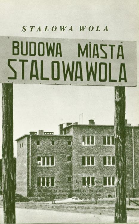 Budowa miasta Stalowa Wola, źródło: Melchior Wańkowicz, Sztafeta. Książka o polskim pochodzie gospodarczym, Warszawa 1939, s. 67