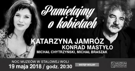 Recital Katarzyny Jamróz podczas Nocy Muzeów 2018!