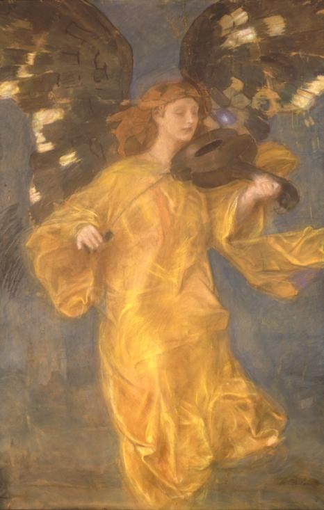 Złoty Anioł, obraz z kolekcji prywatnej