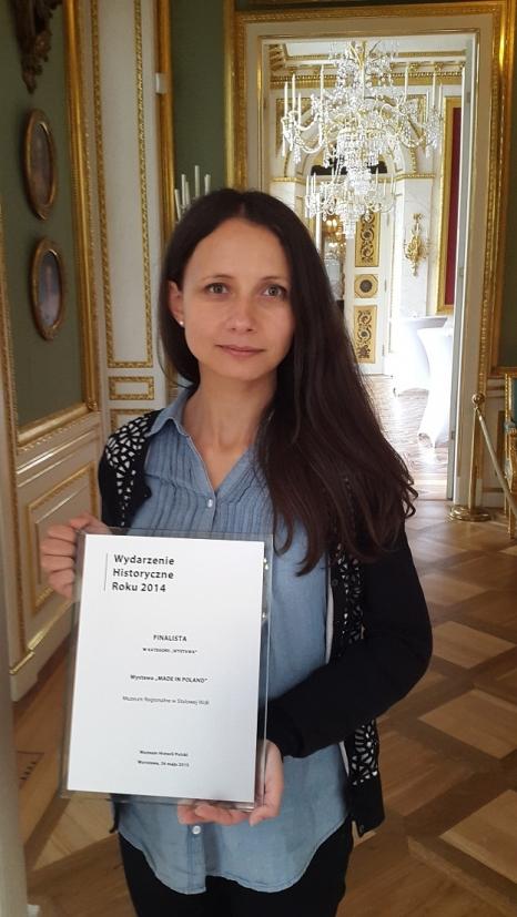 Na zdj. Iwona Pityńska - koordynator wystawy