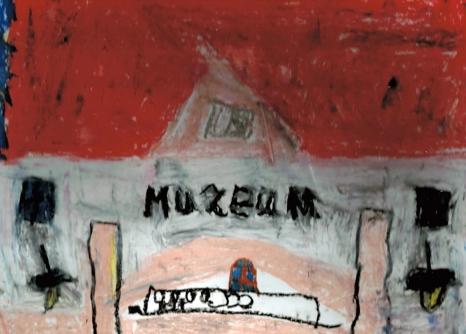 Muzeum oczami dziecka. Wystawa prac uczniów PSP nr 7 z Oddziałami Integracyjnymi w Stalowej Woli
